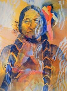 Chief Little Elk of the Dakota Sioux