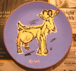 """Ceramics (8"""" Plate)"""